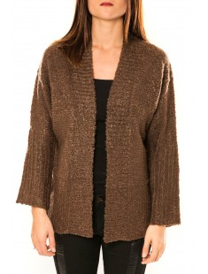Gilet Laetitia Mem Marron