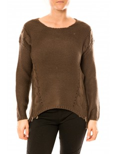 Pull Laetitia MEM K078 Marron