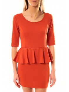 Robe Moda Fashion Orange