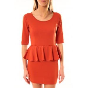 Robe Moda Fashion Orange