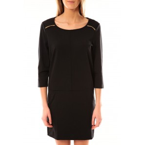 Robe Greg 3/4 Short Dress 10098979 Noir