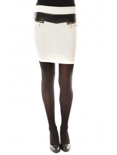 Jupe J.X Fashion Blanc - vetement femme