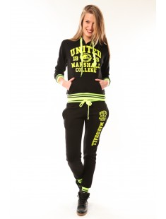 Total Look United Marshall College Jaune