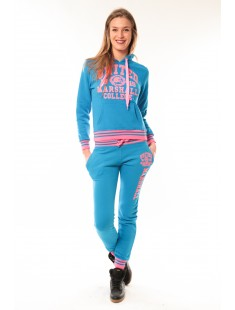 Total Look United Marshall College Bleu/Rose