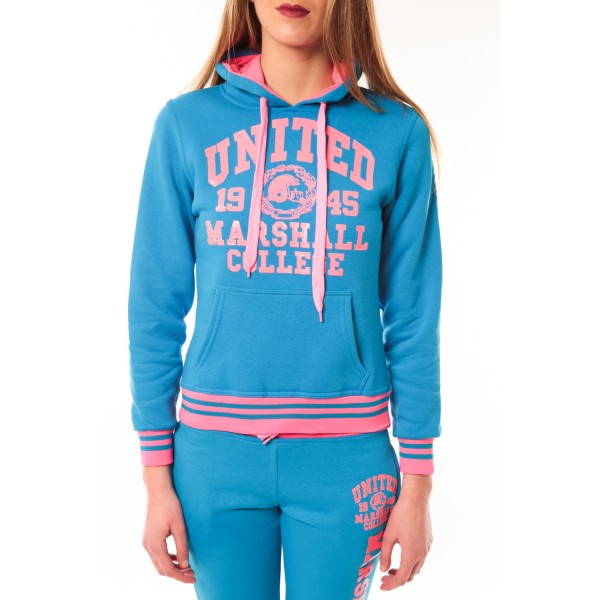 ... Total Look United Marshall College Bleu Rose b78d0daadeb