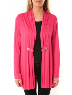 Gilet Diamantine Rose