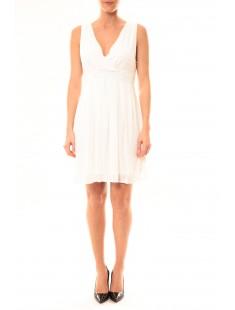 170c00cd19c Robe Enzoria 9291 Blanc - vetement femme