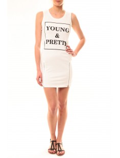 Robe Young MC1577 Blanc