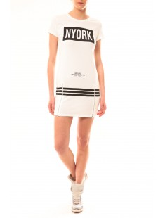 Robe New York MC1575 Blanc