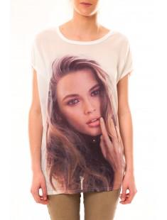 Tee-shirt T04 Blanc