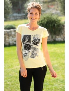 T-Shirt NAD Photo Jaune