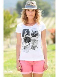 T-Shirt NAD Photo Blanc
