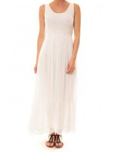 Robe Z1392 Blanc