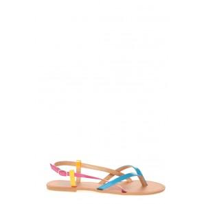 Sandales Nolly Bleu