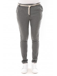 Pantalon Sandra gris chiné
