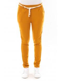 Pantalon Sandra moutarde