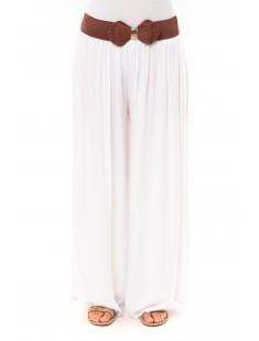 Pantalon Trionfo blanc