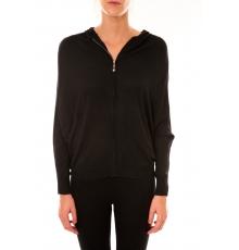 Sweat zippé L1039 noir
