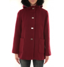 Manteau 9522 Capuche F de la Passion Bordeaux