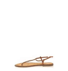Sandales Plates Camel Syrial