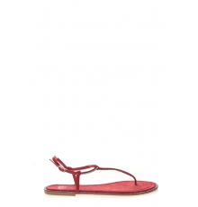 Sandales Plates Rouge Syrial