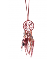 Collier Attrape reves  Fashion Jewelery 1510-206 Rouge