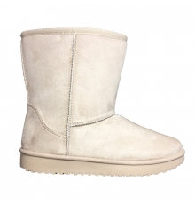 Nice Shoes Boots Beige 35-755