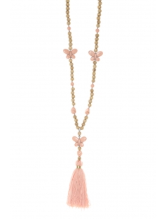 Collier sautoir Fashion Jewelry  Rose