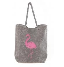Sac Flamingo Gris