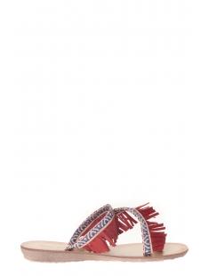 Sandale frange rouge  20261