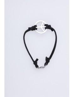Bracelet Peace Noir - vetement femme