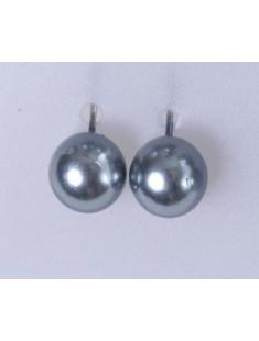 BO perles grises - vetement femme