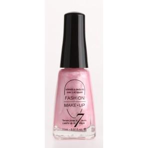 Fashion make up  vernis melissa rose clair brillant