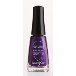 Fashion make up  vernis melissa violet