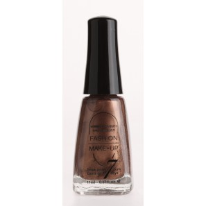 Fashion make up  vernis melissa chocolat