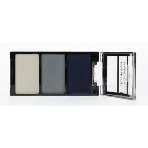 fashion make up ombre à paupière trio bleu gris