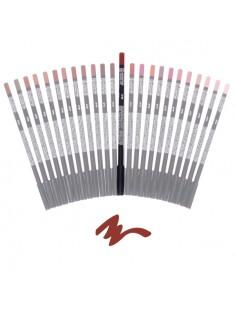 crayon à lèvre noisette - maquillage femme