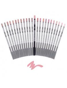 crayon à lèvre chair - maquillage femme