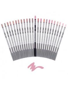 crayon à lèvre beige rose - maquillage femme