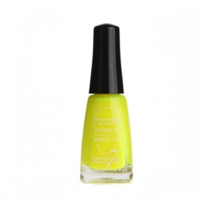Fashion Make Up vernis à ongles fluo jaune fluo