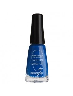 vernis à ongles fluo bleu - maquillage femme