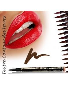 Feutre  contour des lèvres semi-permanent Café - maquillage femme
