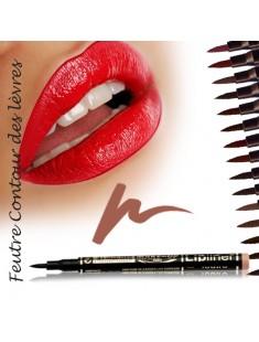 Feutre  contour des lèvres semi-permanent Brun clair - maquillage femme