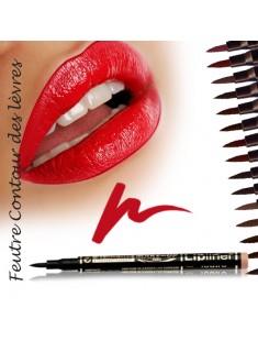 Feutre  contour des lèvres semi-permanent Vin Rouge - Maquillage femme