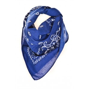 Bandana Rock Choc Bleu