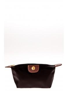 Pochette couleur unie W-25 Noire - vetement femme