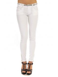 Pantalon S&D S1506 Blanc