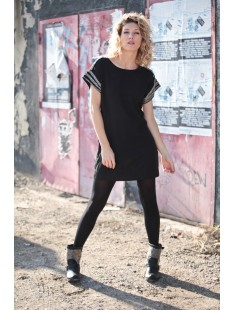 Mandy SS Mini Dress EA Noire