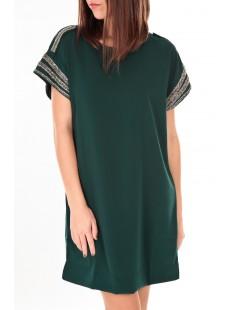 Mandy SS Mini Dress EA Verte