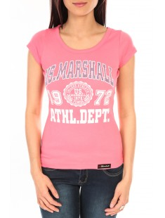 T-Shirt Official US Marshall FT126 Rose